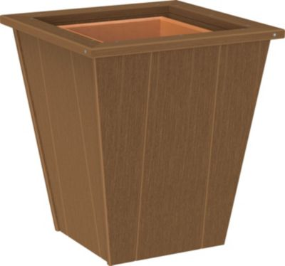 Amish Outdoors 18 Mahogany Planter