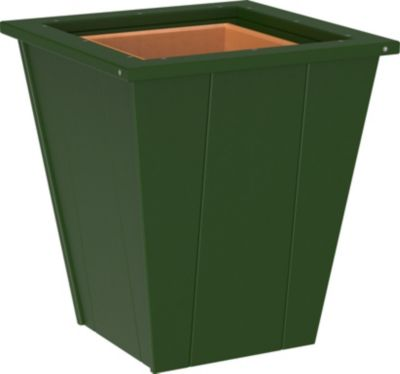 Amish Outdoors 18 Green Planter