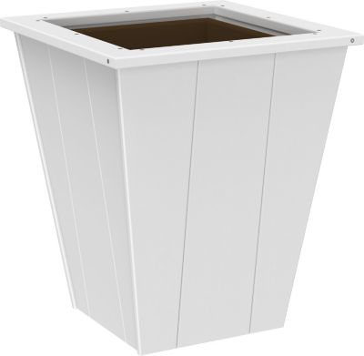 Amish Outdoors 22 White Planter