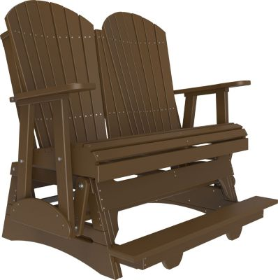 Amish Outdoors Adirondack Glider Adirondack Balcony Gliding Loves