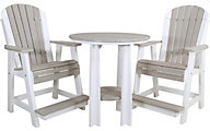 Amish Outdoors Balcony 3-Piece Balcony Set