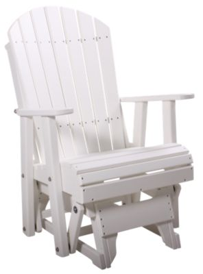 Amish Outdoors Deluxe Adirondack Glider