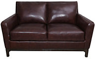 Kuka 5178 Collection 100% Leather Loveseat