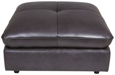 Kuka 5306 Collection 100% Leather Ottoman
