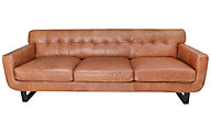 Kuka 2677 Collection 100% Leather Sofa