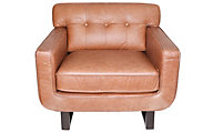 Kuka 2677 Collection 100% Leather Chair