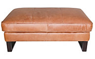 Kuka 2677 Collection 100% Leather Ottoman