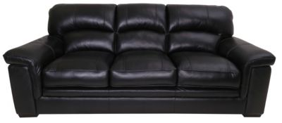 Kuka Michigan 100% Leather Sofa