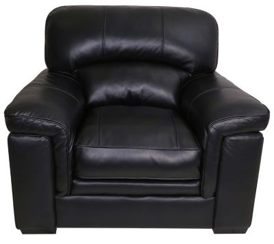 Kuka Michigan 100% Leather Chair
