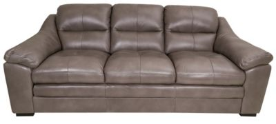 Kuka Erie 100% Leather Sofa