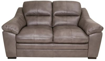 Kuka Erie 100% Leather Loveseat