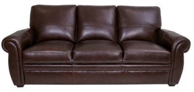 Kuka 5505 Collection 100% Leather Sofa