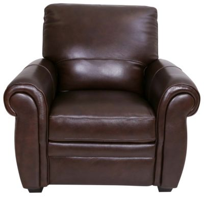 Kuka 5504 Collection 100% Leather Pushback Recliner