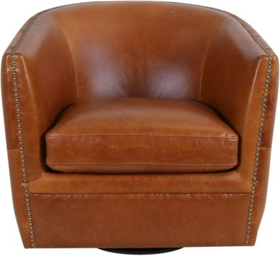 Stupendous Kuka A1137 100 Leather Camel Swivel Glider Machost Co Dining Chair Design Ideas Machostcouk