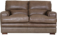 Kuka 3300 Collection 100% Leather Loveseat
