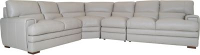 Kuka KF 3300 100% Leather 4-Piece Sectional