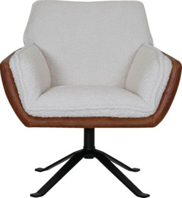 Kuka A017 Collection Leather Swivel Chair