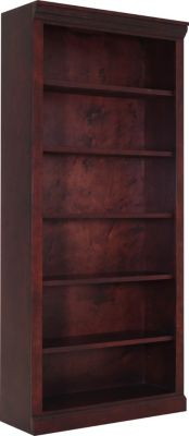 Kurio King JC Cherry 72-Inch Bookcase