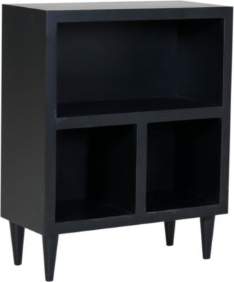 Kurio King TJX Collection Black Short Bookcase Cube