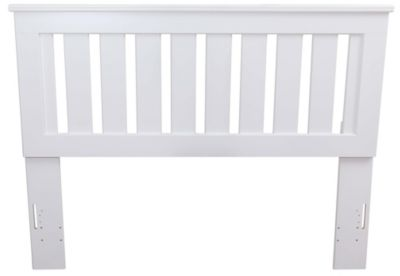 Lang Shaker White Queen Headboard
