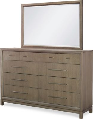 Legacy Classic Rachael Ray Highline Dresser with Mirror