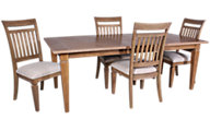 Legacy Classic Brownstone Village Table & 4 Chairs