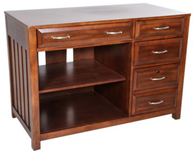 Liberty Hampton Bay Cherry Computer Credenza