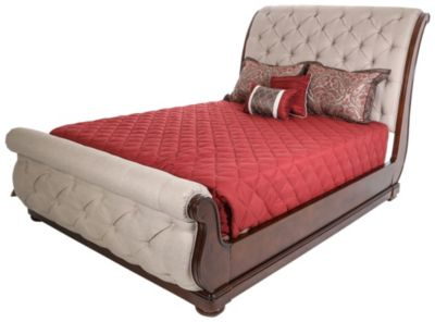 Liberty Cotswold Queen Upholstered Sleigh Bed