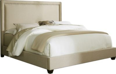 Liberty Upholstered Queen Panel Bed