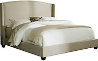 Liberty Upholstered King Shelter Bed
