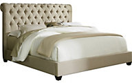 Liberty Upholstered King Sleigh Bed