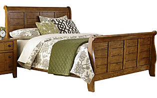 Liberty Grandpa's Cabin King Sleigh Bed