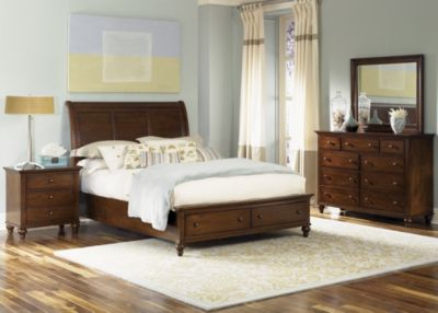 Liberty Hamilton 4-Piece King Storage Bedroom Set