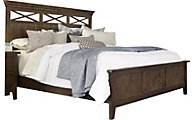 Liberty Hearthstone Queen Panel Bed