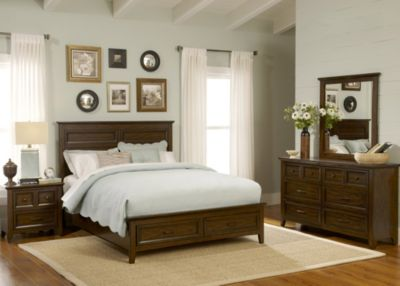Liberty Laurel Creek 4-Piece King Storage Bedroom Set