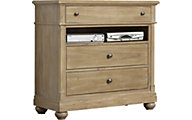 Liberty Harbor View Media Chest