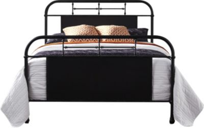 Liberty Vintage Series Black Queen Metal Bed