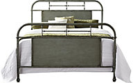 Liberty Vintage Series Green Queen Metal Bed