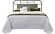 Liberty Vintage Series Green Queen Metal Headboard