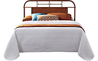 Liberty Vintage Series Orange Queen Metal Headboard