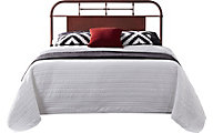 Liberty Vintage Series Red Queen Metal Headboard