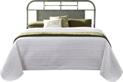 Liberty Vintage Series Green Twin Metal Headboard