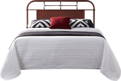 Liberty Vintage Series Red Twin Metal Headboard