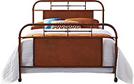 Liberty Vintage Series Orange Twin Metal Bed