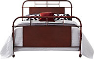 Liberty Vintage Series Red King Metal Bed