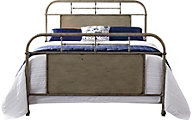 Liberty Vintage Series White King Metal Bed