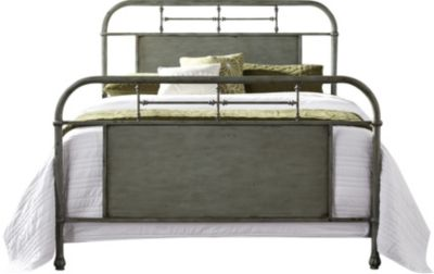 Liberty Vintage Series Green Full Metal Bed