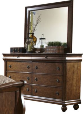 Liberty Rustic Traditions Dresser with Mirror