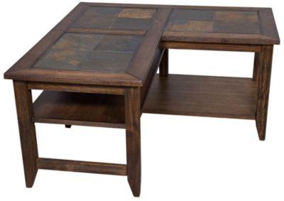 Awesome Liberty Brookstone L Shaped Coffee Table