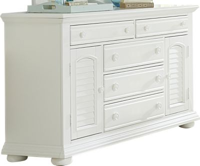 Liberty Summer House I White Dresser